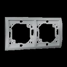 Рамка 2-а MR2/26 металік алюм