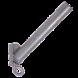 Кріплення для світильників зовнішнього освітлення КБЛ-См д40мм 350мм з гаком Bilmax