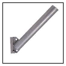 Кріплення для світильників зовнішнього освітлення КБЛ-С 350мм д50мм Bilmax