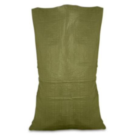 Мішок поліпроп. зелений 55х105см 50кг 10-918
