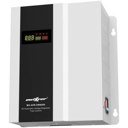Стабілізатор Maxxter MX-AVR-DW8000-01 8000ВА настінний, симісторний