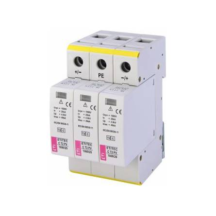 Обмежувач перенапруги ETITEC C T2 PV 1000/20 (для PV систем) ЕТІ