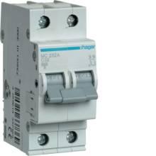 Автоматичний вимикач    63/2 MC263A/С Hager